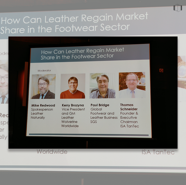 Panel on leather, how to regain market s