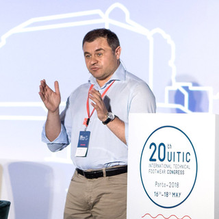 Andrey Golub, ELSE Corp's CEO, speaking at the event