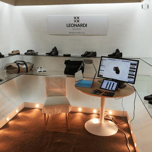 ELSE Corp's Virtual Retail experience for Leonardi Milano