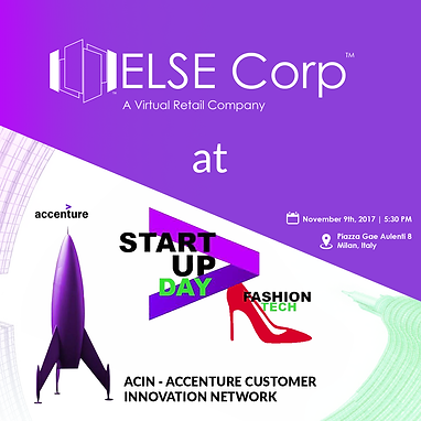 Accenture ACIN Startup Day Fashion Tech