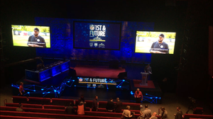 led video screen jumbotron for nfl guthrie theater shark tank event rental