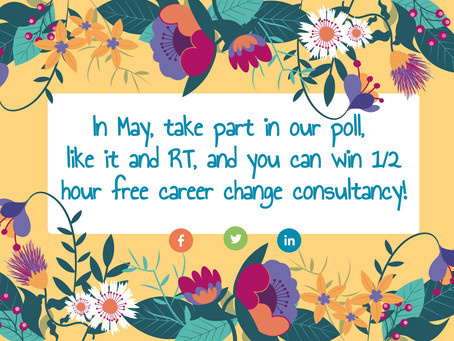 May Competition: free career changing consultancy