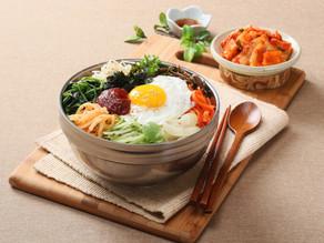 Rýžová mísa se zeleninou - Bibimbap 비빔밥 🌶