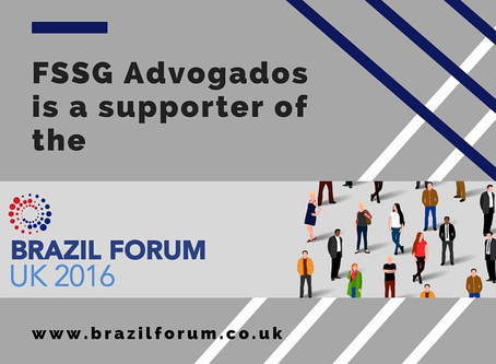 FSSG (old denomination of L. Farina Law Firm) is a supporter of the Brazil Forum UK 2016