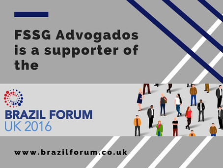 O FSSG Advogados (anterior denominação de L. Farina Advogados), é um dos apoiadores do Brazil Forum