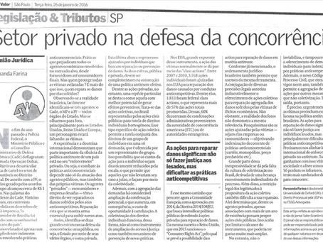"""""""Setor privado na Defesa da Concorrência"""""""