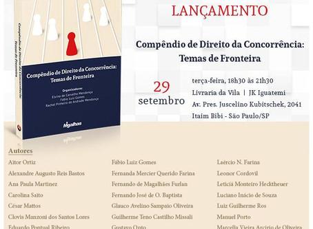 """Lançamento do livro """"Compêndio de Direito da Concorrência"""""""