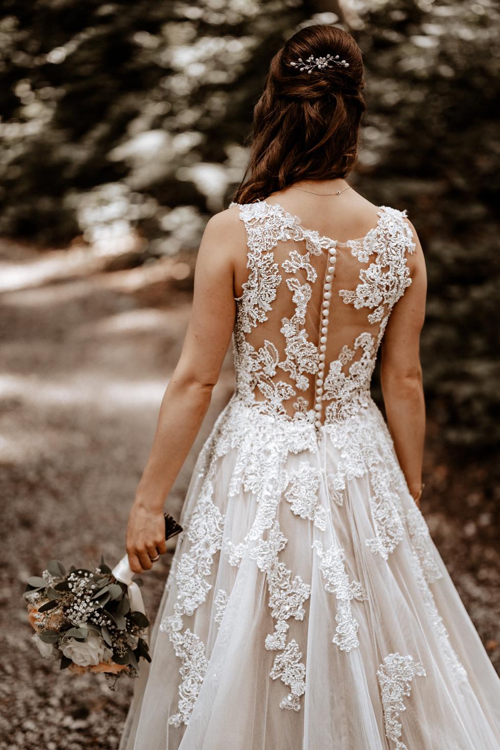 Brautpaarshooting beim im Wald 13