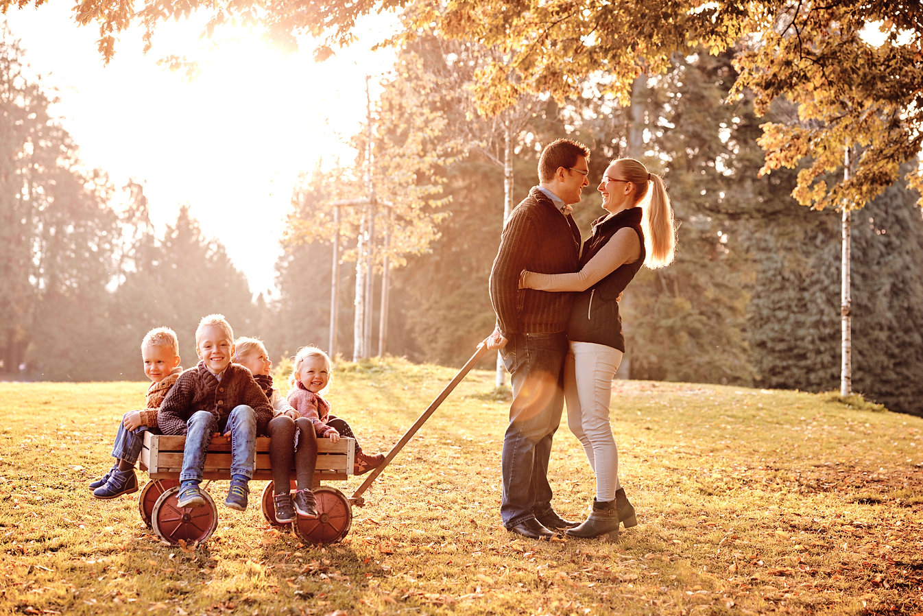 Herbst Familienfotoshooting