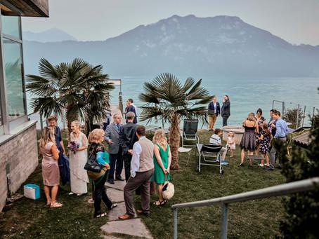Spätsommer Hochzeit in Weggis