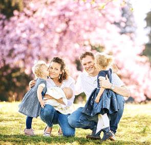 Familienfotoshooting in Luzern und Inner
