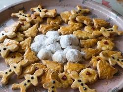 Jinger bread & Snow ball cookies