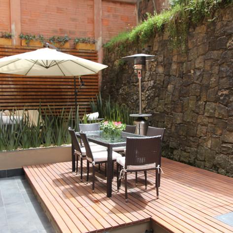 Remodelación integral Apartamento Larsen Terraza