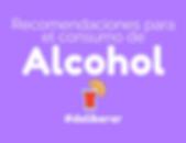 Recomendaciones para el consumo de alcoh