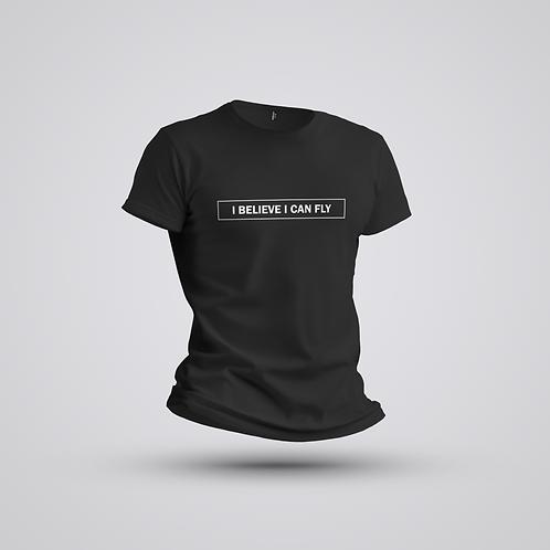 Camiseta #deliberar I believe I can fly