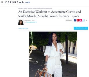 Rihanna's Trainer on Lagree Fitness