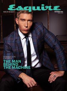 Sebastien Lagree on Esquire Cover