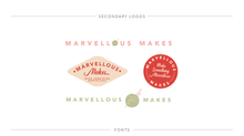 Brand Development for Marvellous Makes
