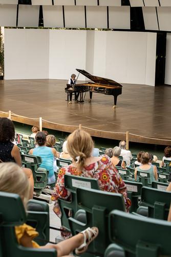 Vittorio Forte au Festival de piano de La Roque d'Antheronn