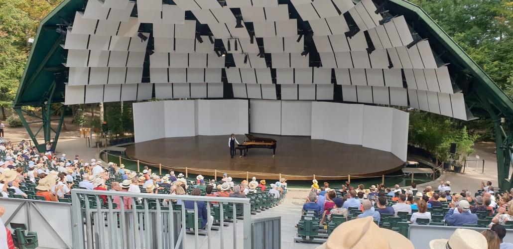Vittorio Forte au Festival de piano de La Roque d'Antheron