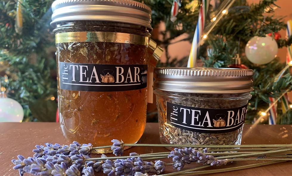 Lavender Dream tea & honey pairing