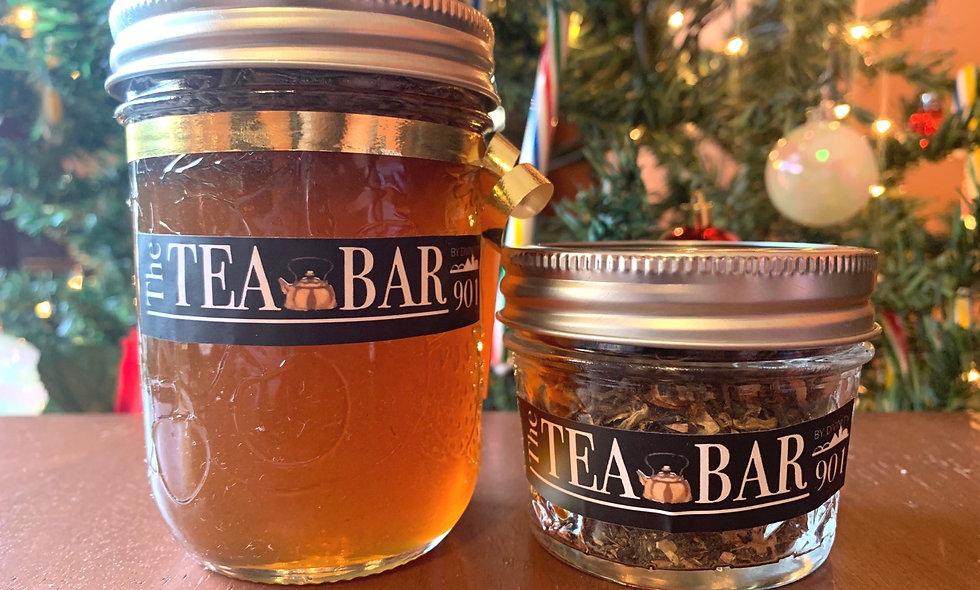 Creme Brûlée tea & honey set