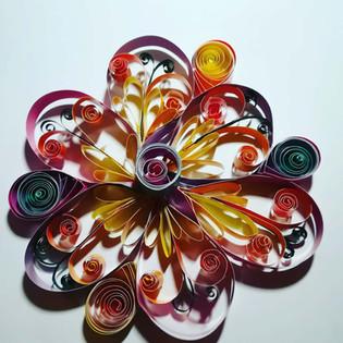 Mandala- Blume