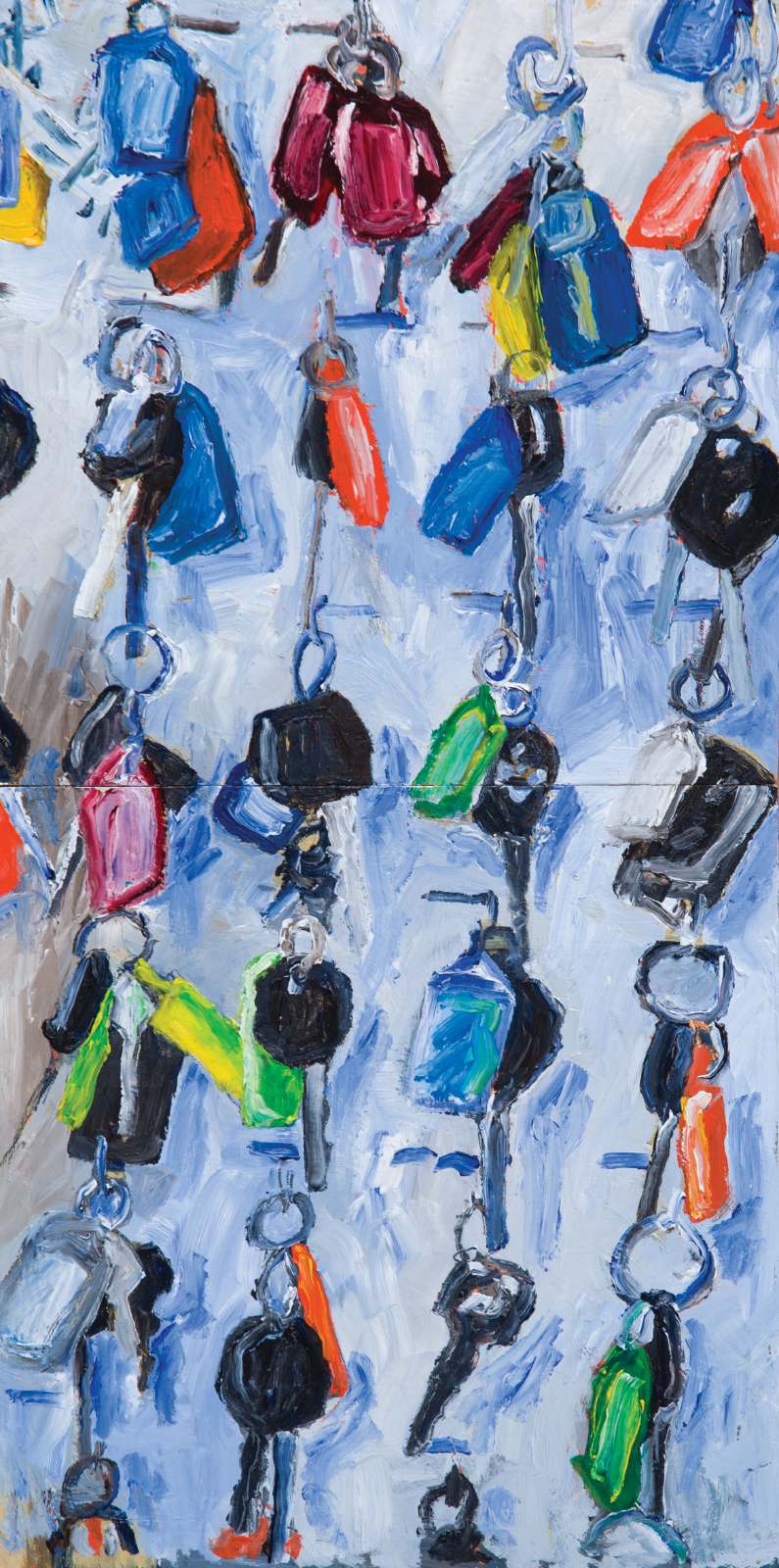 Car keys, Four Mile tool store, 2016