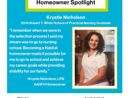 Homeowner Spotlight: Krystle Nicholson