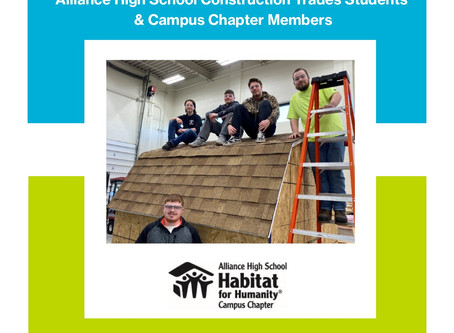 Campus Chapter Students are Hard at Work