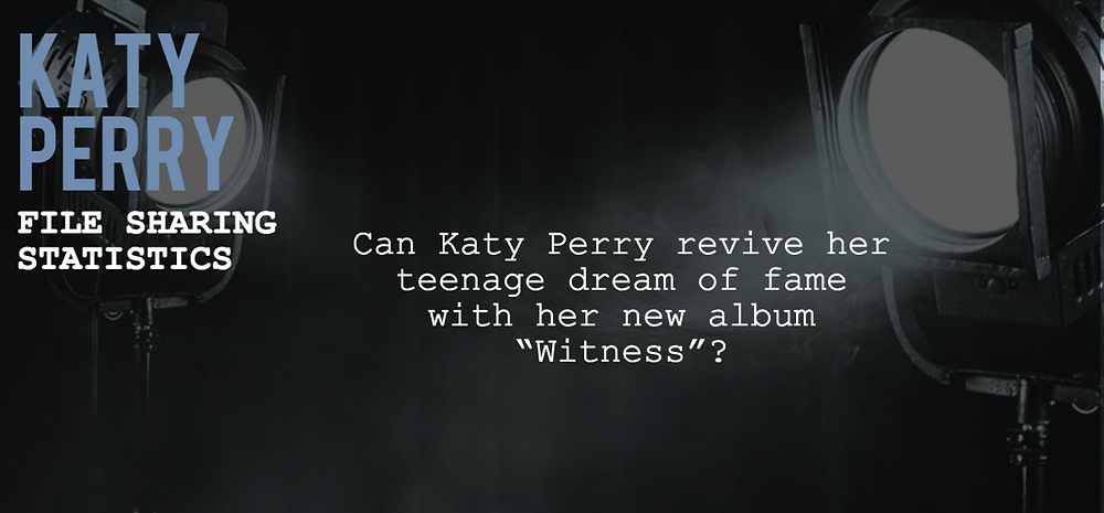 Header image for article about Katy Perry showing the title of the article