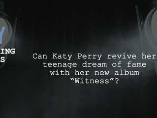 """Katy Perry - new album drop: """"Witness"""" names her a top-ranked artist"""