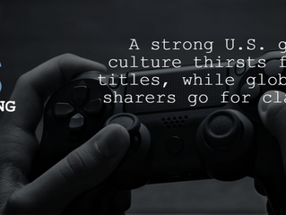 Is the booming U.S. video gaming industry mirrored in file sharing?