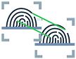 Matching digital fingerprints for visual seach