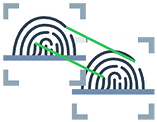 Matching digital fingerprints for visual seach