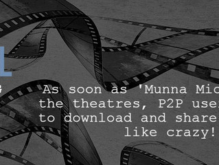 'Munna Michael': More than 350,000 file sharers within the first four days!