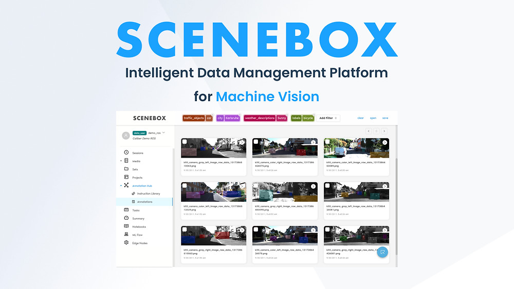 SceneBox product description and image
