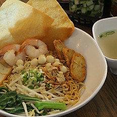 Bakmi Kepiting / Seafood Noodles