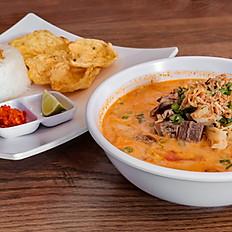 Soto Betawi / Djakarta Beef Soup