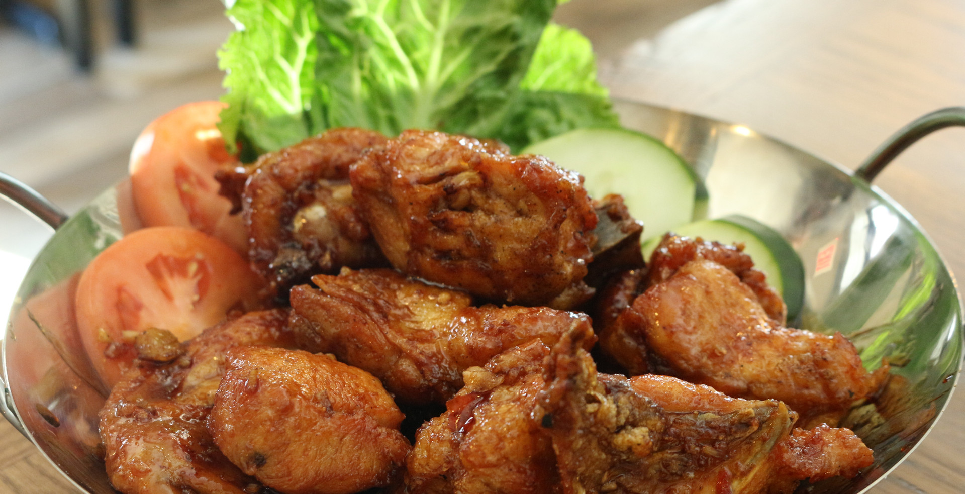 Deep Fried Chicken with Sweet and Sour Sauce