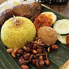 Nasi Kuning / Tumeric Rice