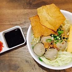 Bakso Djakarta / Djakarta Meat Ball Soup