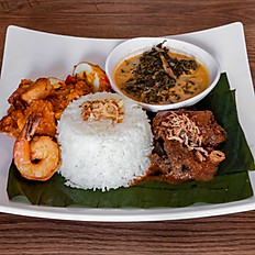 Nasi Rendang / Beef Rendang Rice