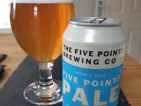 Blog #58. The Five Points Brewing Co. - Five Points Pale