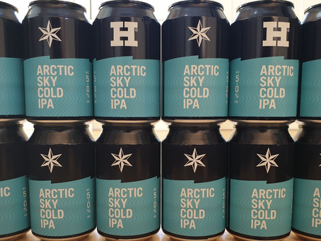 Blog #63. Arctic Sky - Harbour Brewing. The perfect beer!
