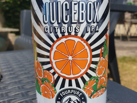 Blog #31. Juicebox Citrus IPA. That's better!