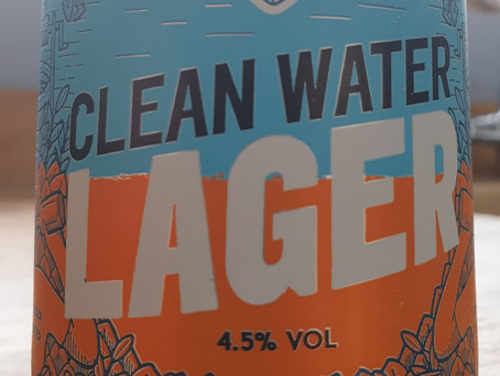 Blog #36. Brewgooders' Cleanwater. Not so fresh and not so clean.