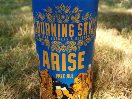 Blog #41. Burning Sky - Arise. The perfect neighbour!