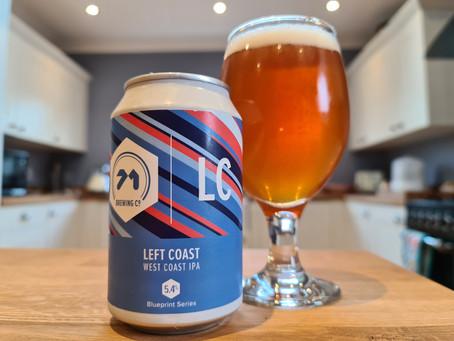 Blog #69.  71 Brewing Co. -Left Coast. Best left behind.