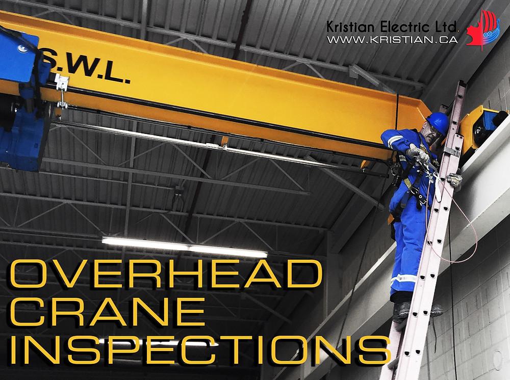 Overhead Crane Inspections - Calgary, Edmonton and Saskatoon